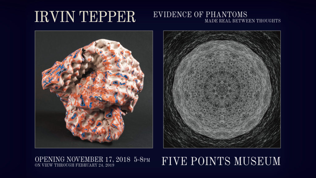 "Evidence of Phantoms Made Real Between Thoughts"" by Irvin Tepper"
